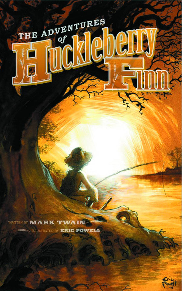 Adventures of Huckleberry Finn Illustrated By Eric Powell HC - State of Comics