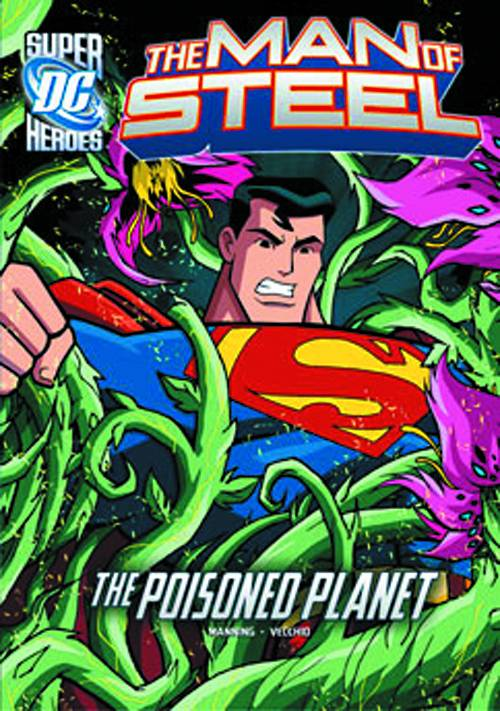 DC Super Heroes Man of Steel YR TP Poisoned Planet - State of Comics
