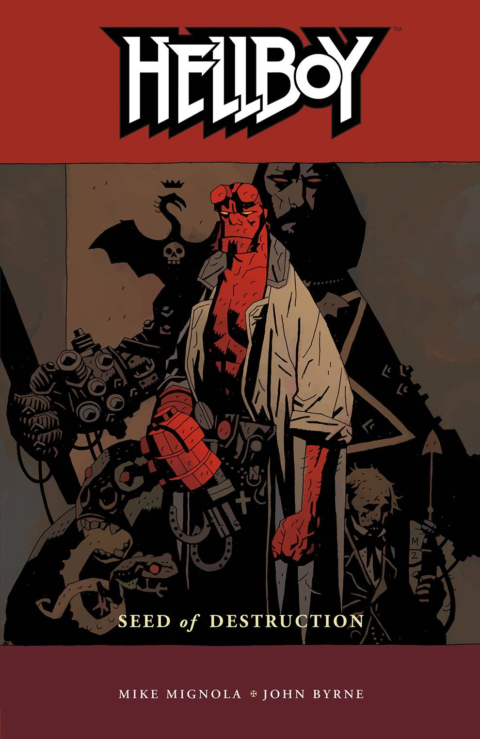 Hellboy - Seed of Destruction Vol 1 TP