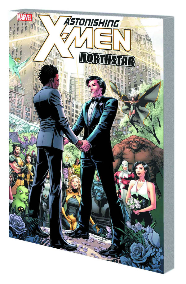 Astonishing X-Men Northstar HC Weaver Cvr - State of Comics