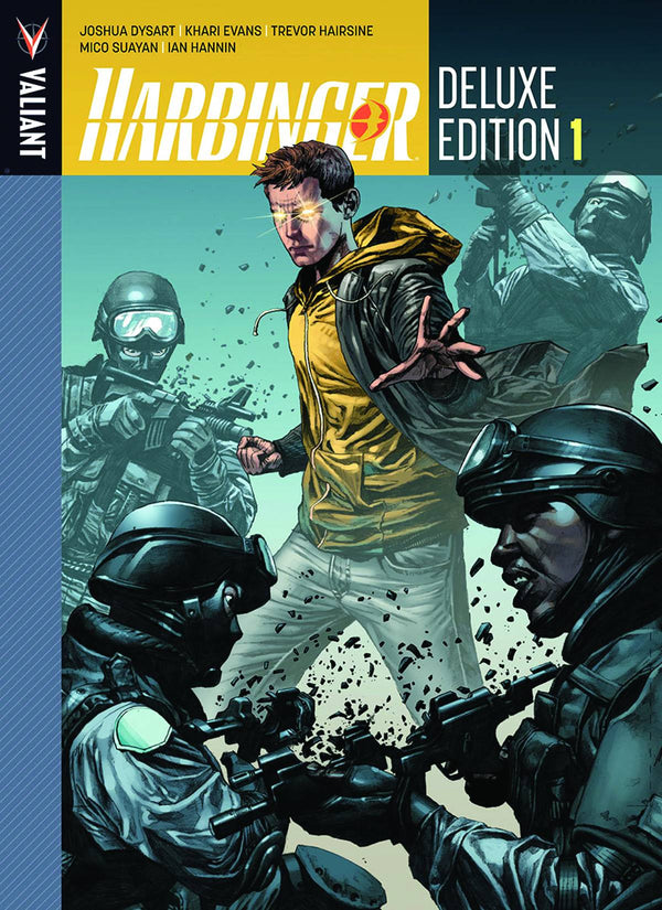 Harbinger Deluxe Edition Vol 1 Hardcover - State of Comics
