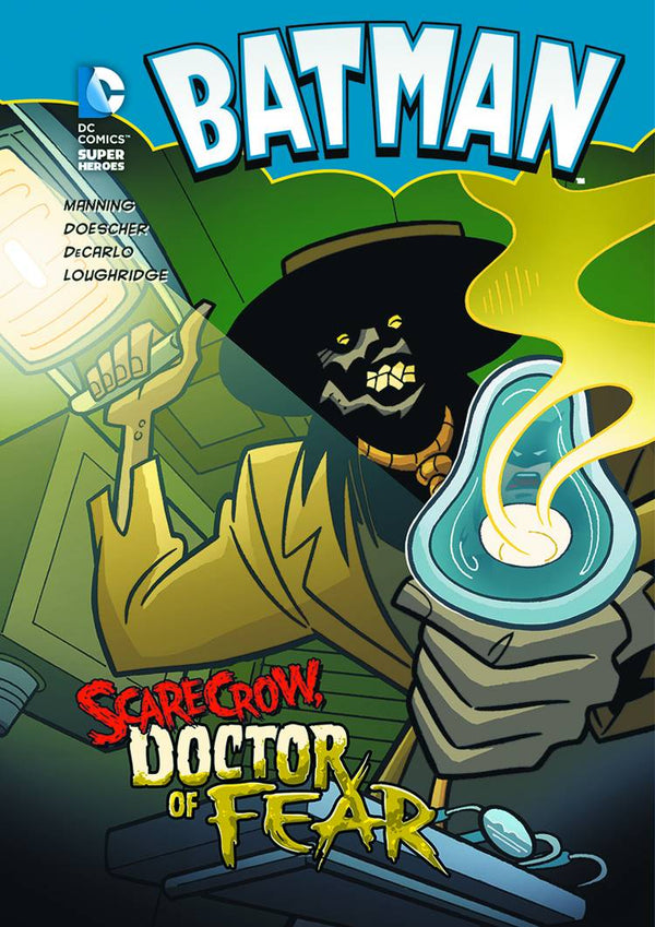 DC Super Heroes Batman Scarecrow Doctor of Fear - State of Comics