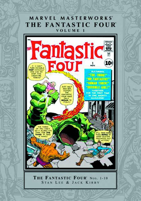 MMW Fantastic Four HC Vol 01 New Ptg - State of Comics