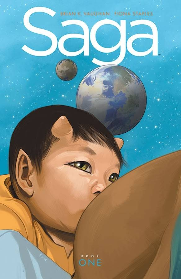 Saga Deluxe HC Book One - State of Comics