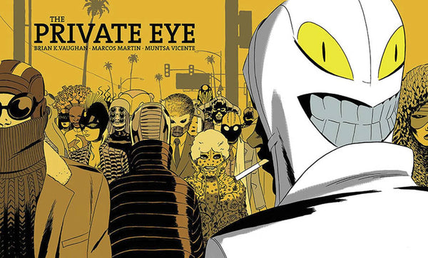 Private Eye Dlx Ed HC - State of Comics