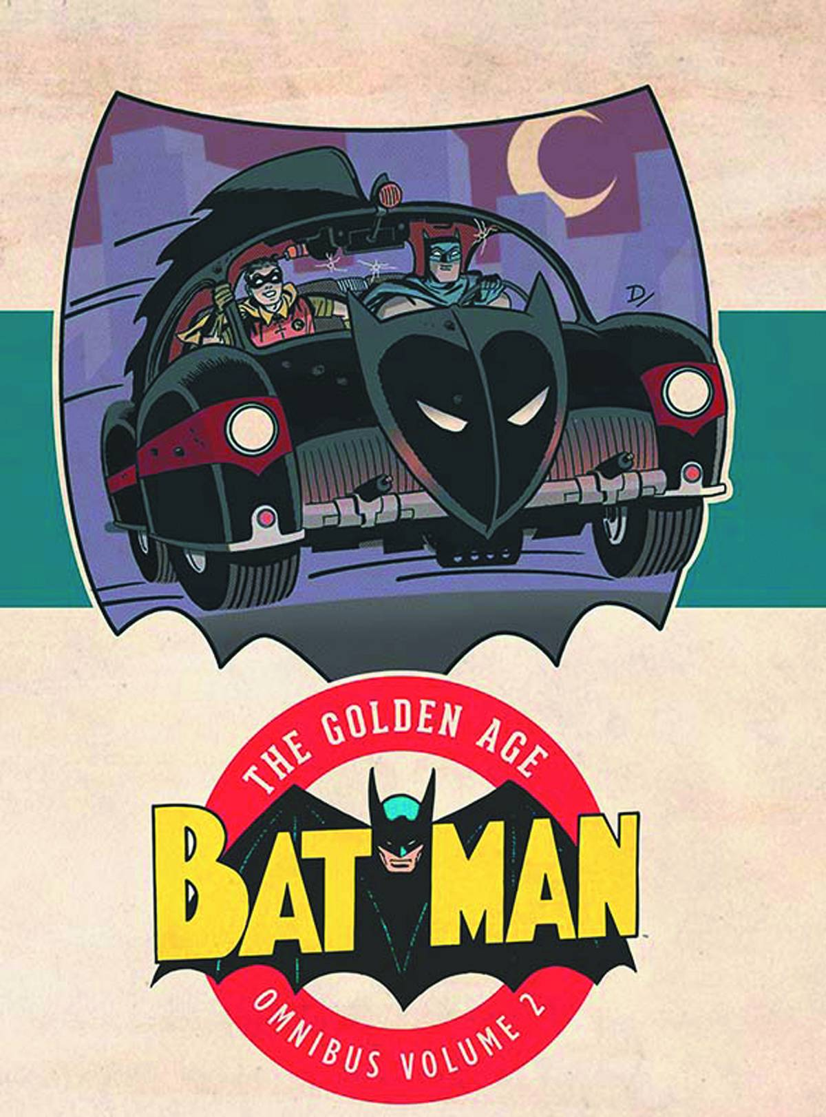 Batman The Golden Age Omnibus Vol 2 Hardcover