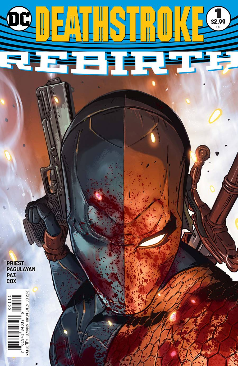Deathstroke Rebirth #1