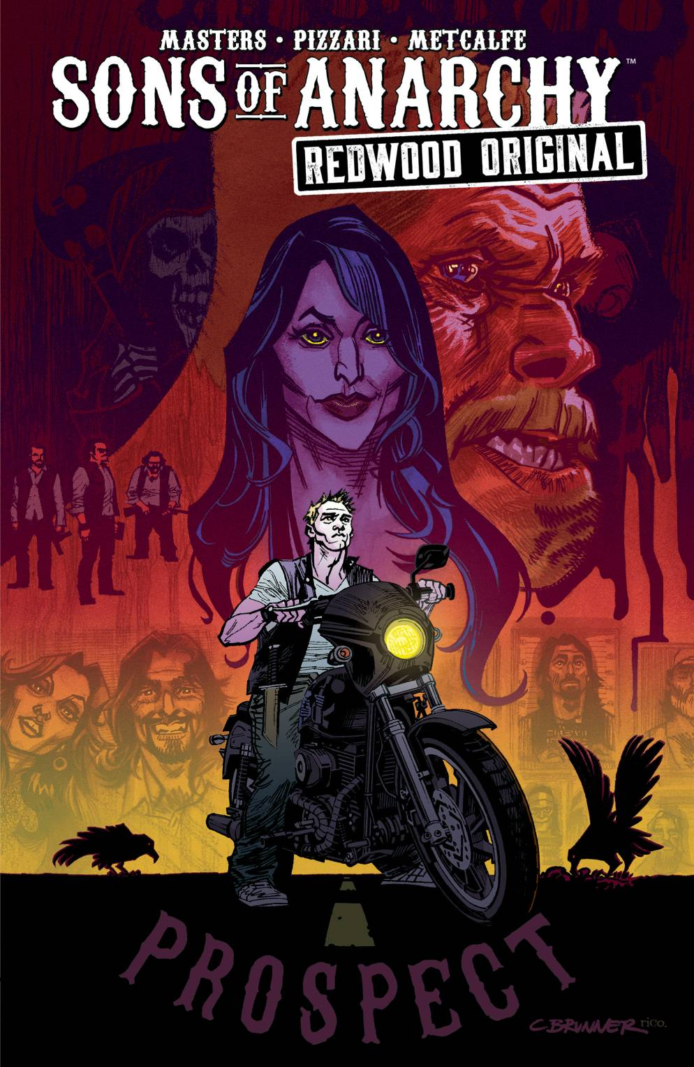 Sons of Anarchy - Redwood Original Vol 1 TP