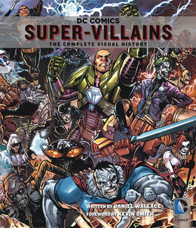 DC Comics Super Villains Comp Visual History