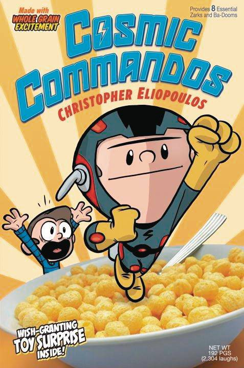 Cosmic Commandos GN Vol 01 - State of Comics