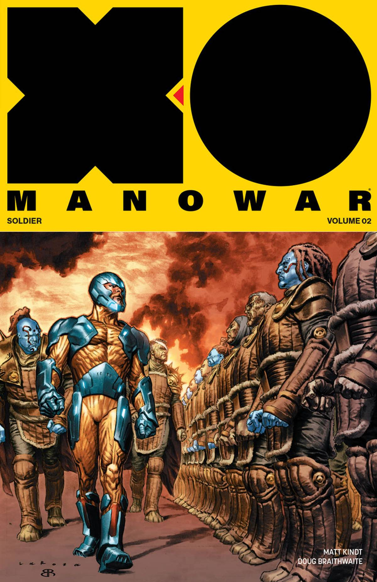 X-O Manowar Vol 2 TP