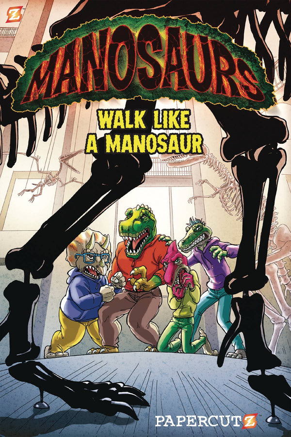 Manosaurus TP - State of Comics