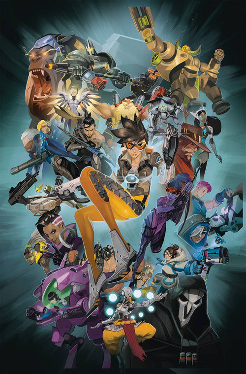 Overwatch Anthology HC Vol 01 - State of Comics