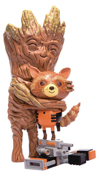 Guardians of the Galaxy Rocket & Groot Treehugger Figure