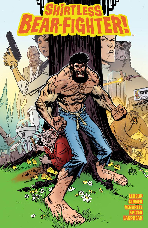 Shirtless Bear-Fighter TP - State of Comics