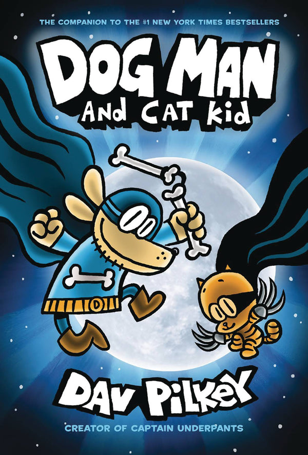 Dog Man GN Vol 04 and Cat Kid - State of Comics