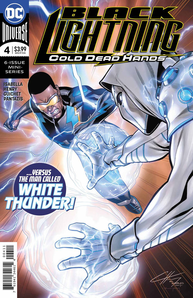 Black Lightning Cold Dead Hands #4
