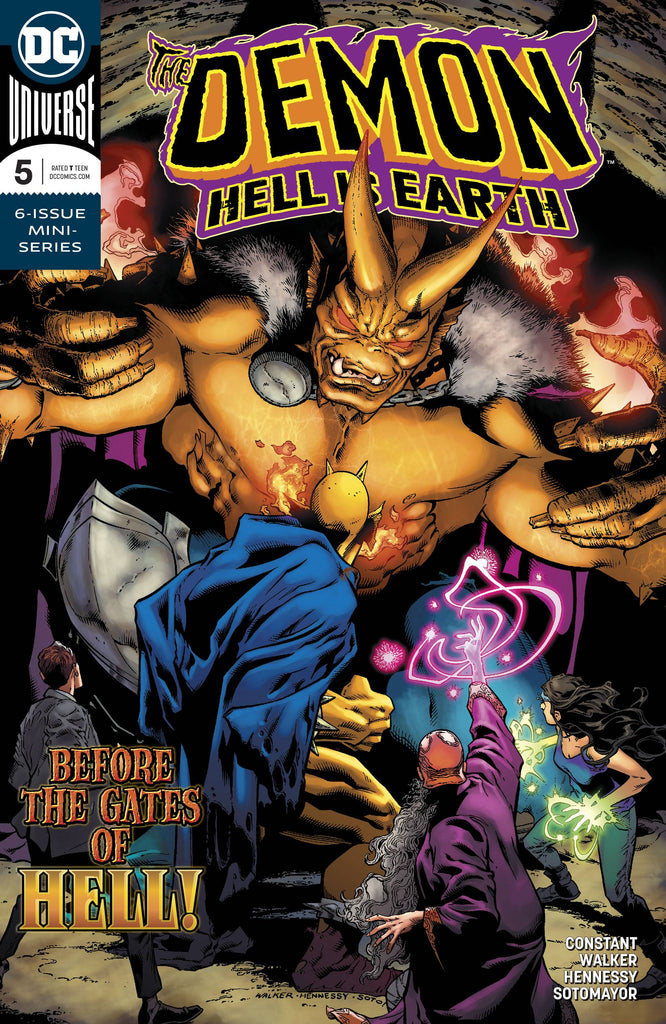Demon: Hell is Earth #5