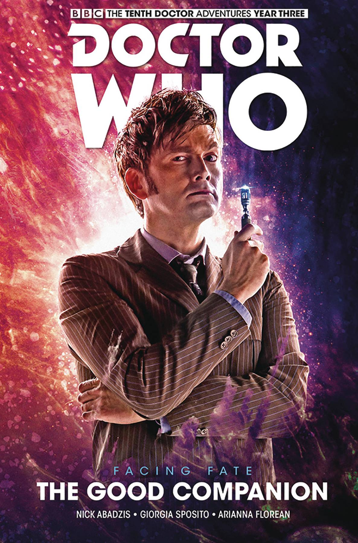 Doctor Who Tenth Doctor Facing Fate Hardcover