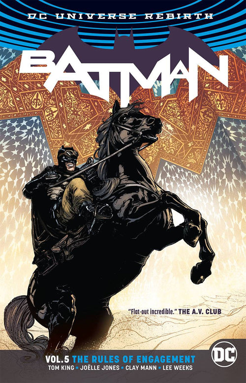 Batman Vol 5 TP - The Rules of Engagement - State of Comics