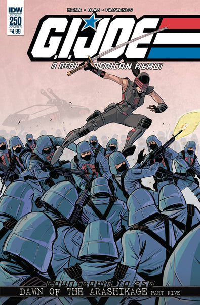 G.I. Joe A Real American Hero #250
