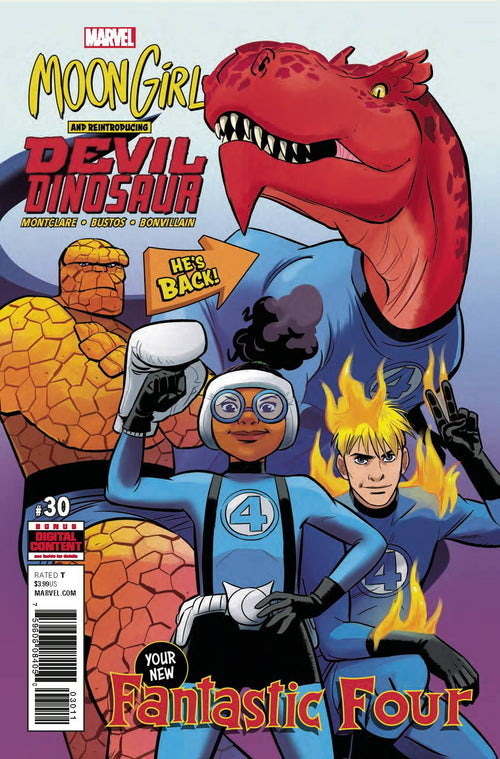 Moon Girl And Devil Dinosaur #30 - State of Comics