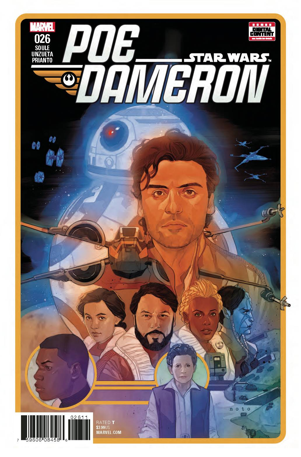 Star Wars Poe Dameron #26