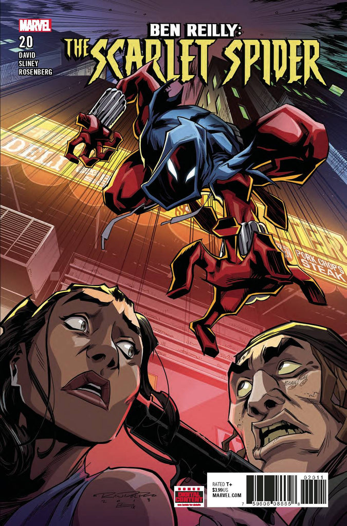 Ben Reilly Scarlet Spider #20