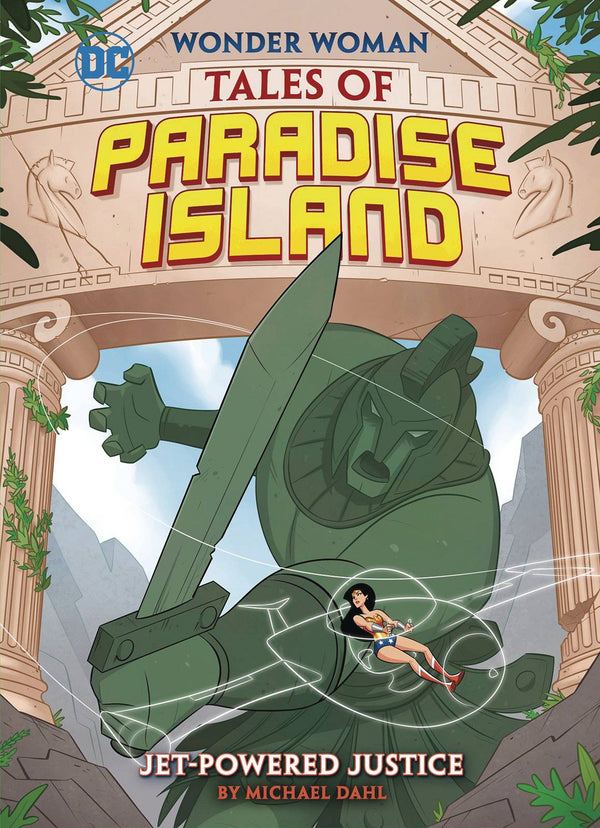 WW Paradise Island YR TP Jet Powered Justice - State of Comics
