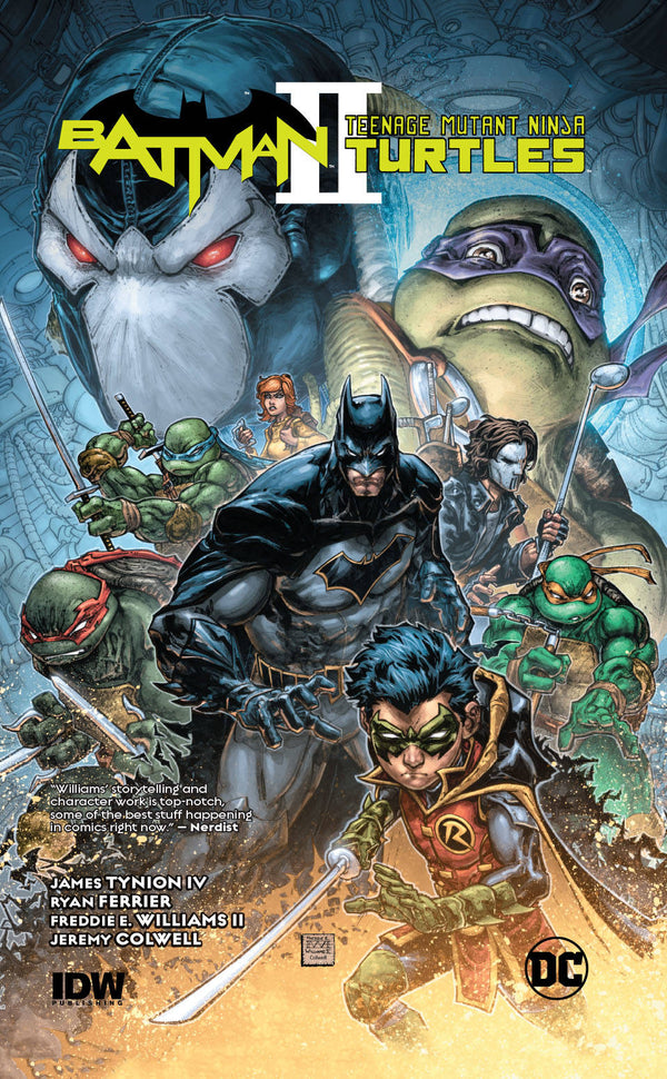 Batman Teenage Mutant Ninja Turtles II HC - State of Comics