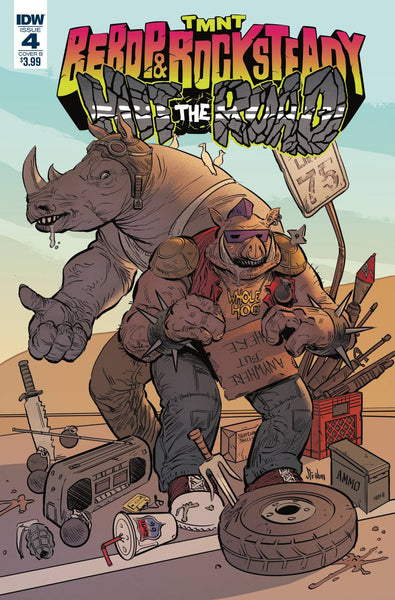 TMNT Bebop & Rocksteady Hit the Road #3