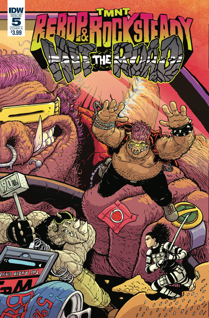 TMNT Bebop & Rocksteady Hit the Road #5