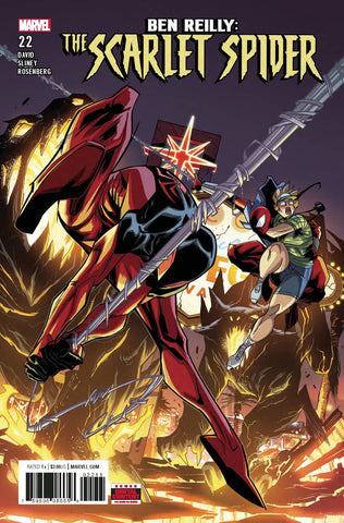 Ben Reilly Scarlet Spider #22