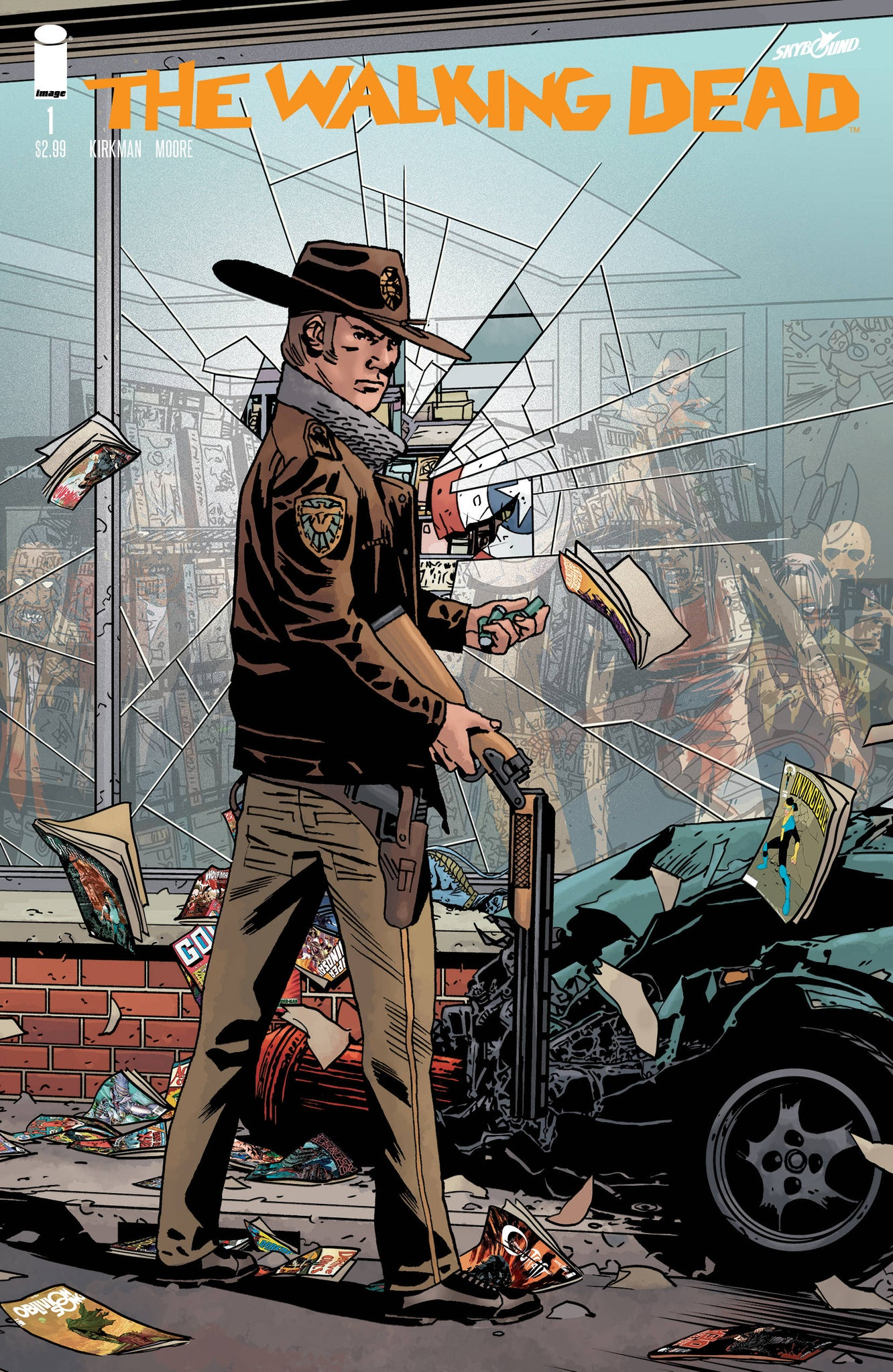 The Walking Dead #1 15th Anniversary