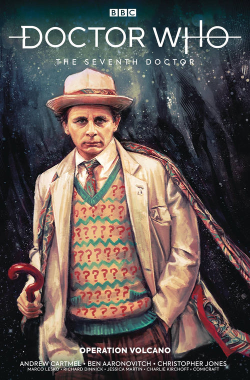 Doctor Who Seventh Doctor TP Operation Volcano - State of Comics