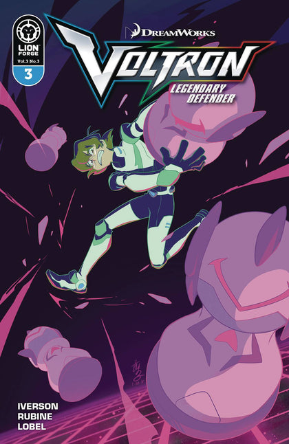 Voltron Legendary Defender Vol. 3 #3 - State of Comics