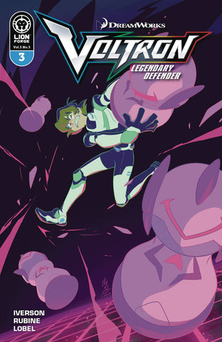Voltron Legendary Defender Vol. 3 #3 Cover A Mariko Yamashin