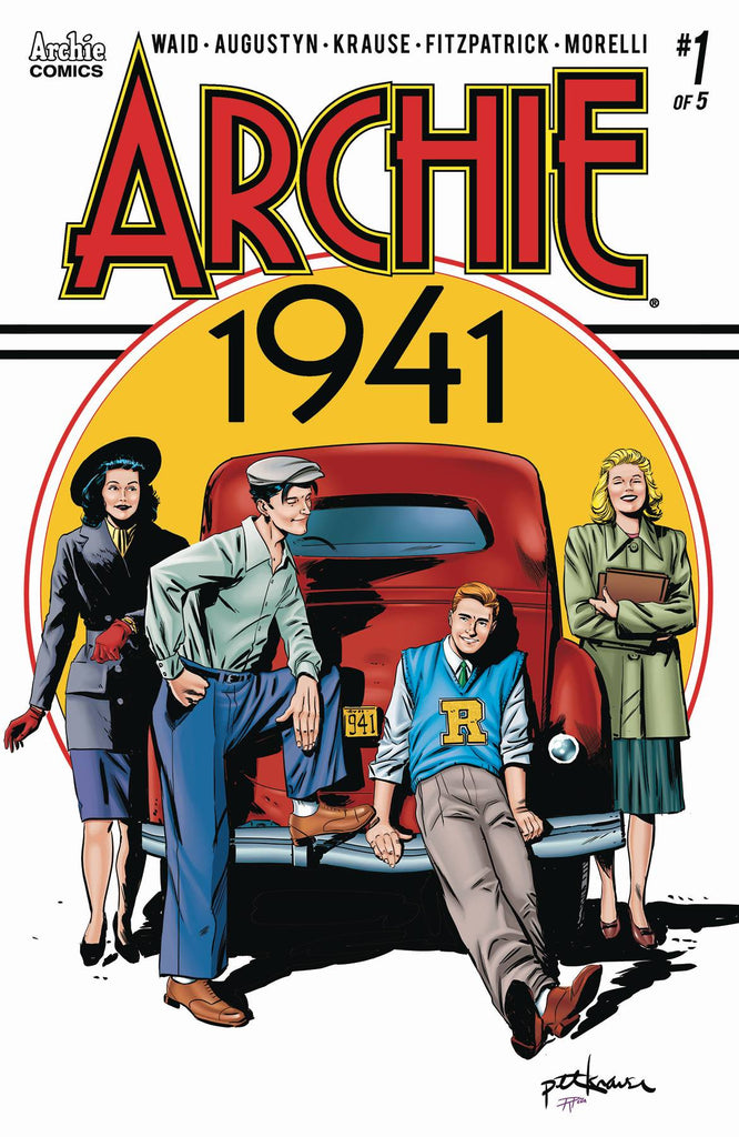 Archie 1941 #1 Cover A Peter Krause