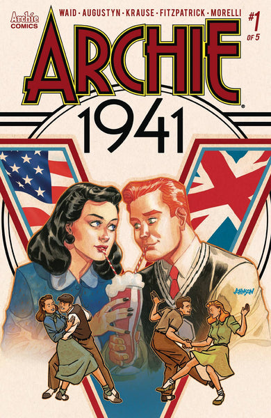 Archie 1941 #1 Cover D Dave Johnson Variant