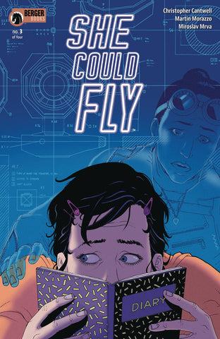 She Could Fly #3 Cover A Martin Morazzo
