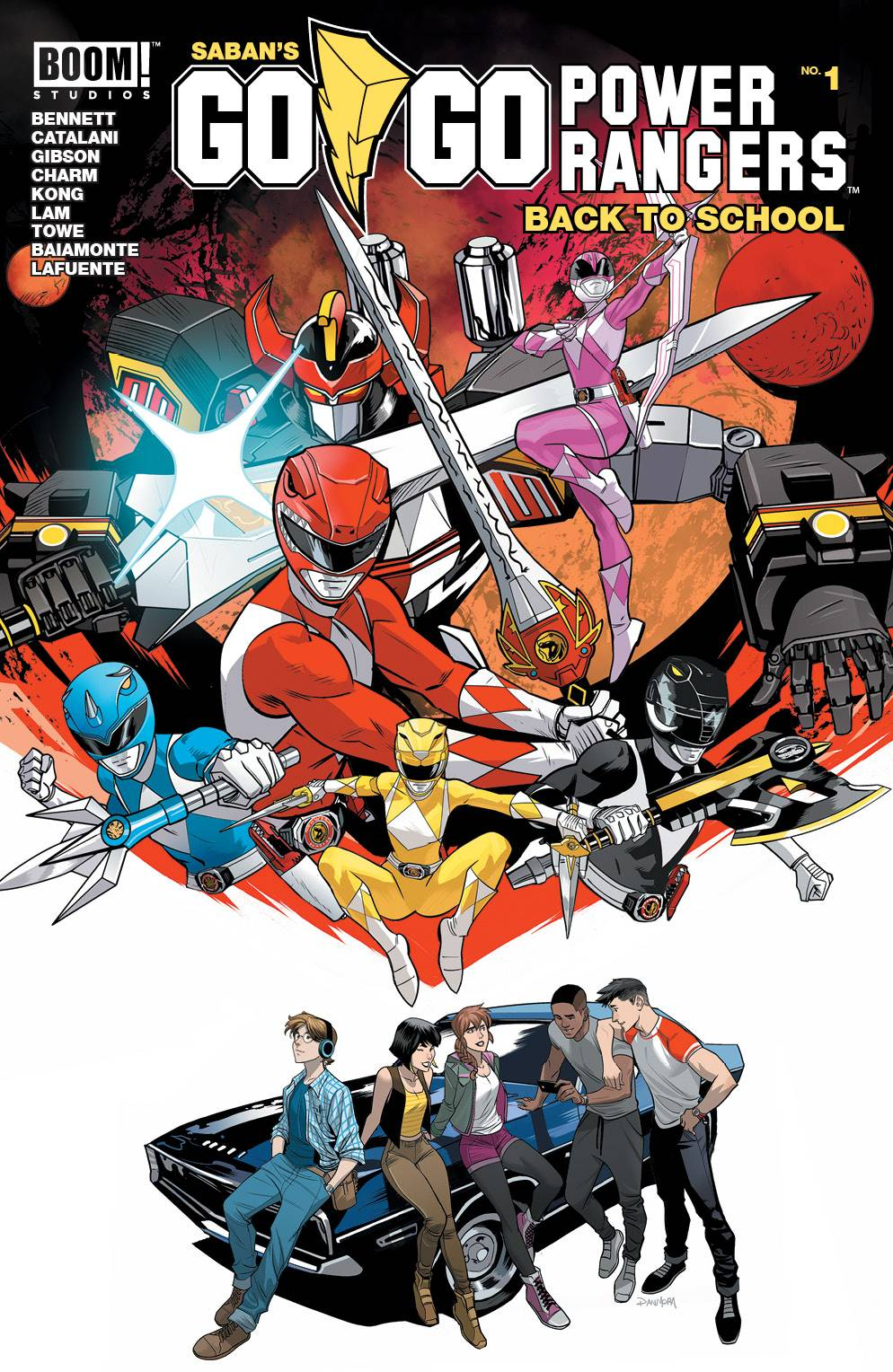 Go Go Power Rangers Back to School Special #1