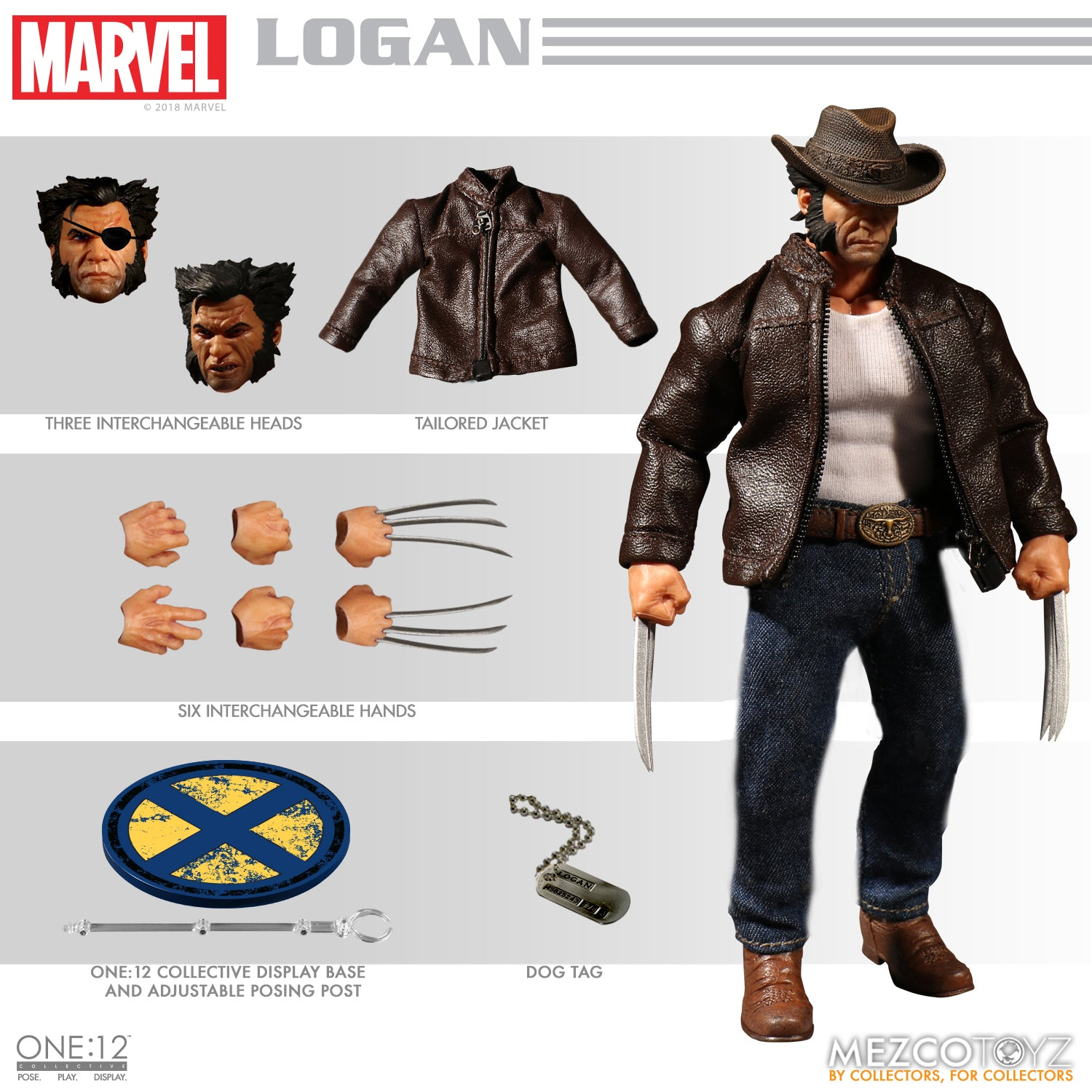 One-12 Collective Marvel Logan AF