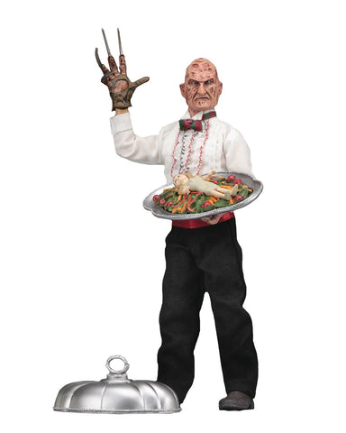 "Nightmare On Elm Street Chef Freddy Retro 8"" Figure"