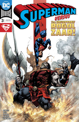 Superman #3 Cover A Joe Prado, Ivan Reis