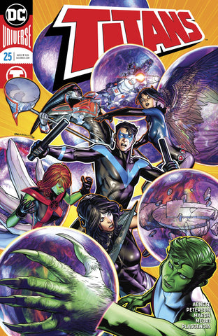 Titans #25 Cover A Brandon Peterson