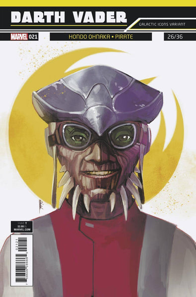 Star Wars Darth Vader #21 Cover B Rod Reis Galactic Icon Variant