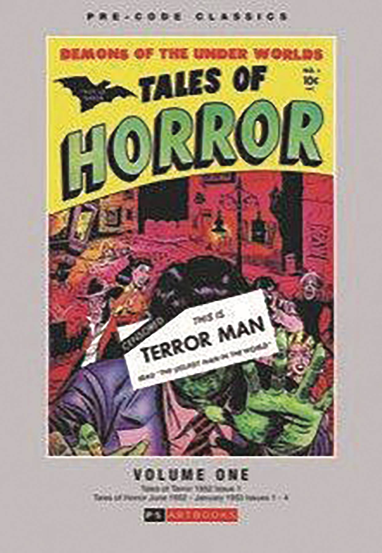 Tales of Terror Volume One Hardcover