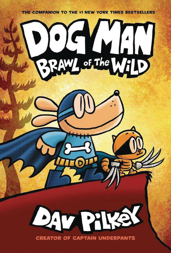 Dog Man GN Vol 06 Brawl of the Wild HC Dust Jacket - State of Comics