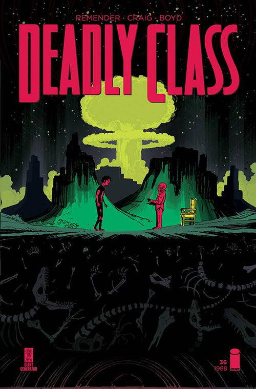 Deadly Class #36 - State of Comics