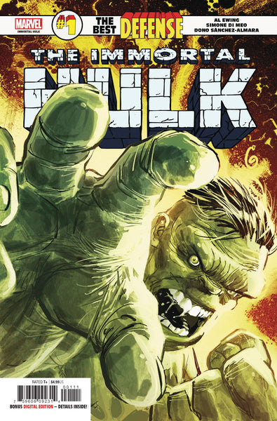 The Best Defense Immortal Hulk #1